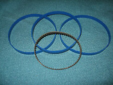 3 BLUE MAX BAND SAW TIRES AND DRIVE BELT FOR DURACRAFT VS312 BAND SAW