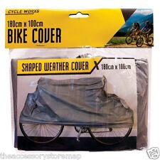 WATERPROOF BICYCLE COVER Mountain Bike Shaped Vinyl Snow Rain Cover 180cm x100cm