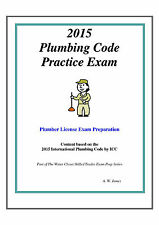 2015 International Plumbing Code Practice Exam Book