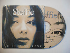 STEFFIE : LE JOUR SE LEVE ♦ CD SINGLE PORT GRATUIT ♦