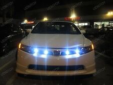 4 pcs White 9W Eagle Eye Car bike LED Parking reverse fog daytime light DRL 23mm