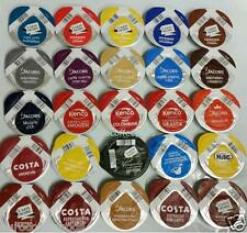 25 x Tassimo Variety Sample Black Coffee T-disc Assorted Flavours No Tea & Choco