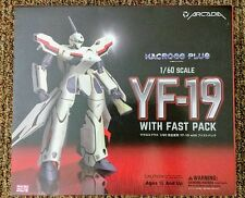 1/60 Perfect Transformation YF-19 W/Fast Pack Macross Plus Arcadia US Seller