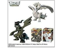 "Pokemon Black & White Zekrom Reshiram 4"" PVC figure"