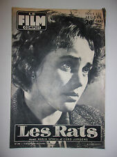 LE FILM COMPLET N°595 1956 LES RATS / MARIA SCHELL - CURD JURGENS