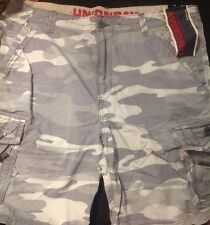 NEW With Tags Unionbay Y181X8N Camo Young Mens Cargo Shorts Size 42