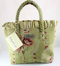 ISABELLA'S JOURNEY POETRY PETITE CARPET BAG HAND PURSE