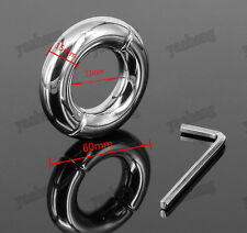 Stainless Steel Metal testicle Ball Stretcher Ball Weight 200g I.D. 33mm