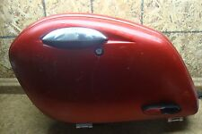 2011 Kawasaki Vulcan VN1700 VN 1700 Vaquero Red Left Rear Saddle Bag Luggage Box
