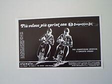 advertising Pubblicità 1981 OLYMPIA e VESPA