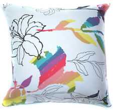 Life Style Flower Leaf Print Cotton Canvas Cushion Cover/Pillow Case*Custom Size