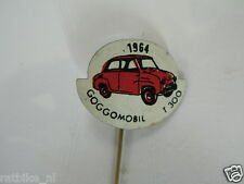 PINS,SPELDJES JAREN 1964 RED CLASSIC CARS GOGGOMOBIL T300 VINTAGE VERY OLD