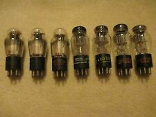 7 Strong Testing 53 Twin Triode Audio Radio Tubes (12AX7 6SL7)