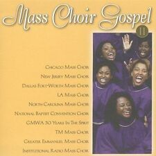 Mass Choir Gospel, Vol. 2 by Various Artists (CD, Jan-2002, Compendia Music...