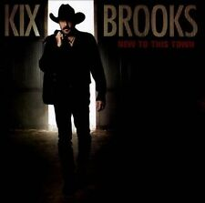 New to This Town  by Kix Brooks CD 2012 Arista NEW