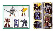 HG GASHAPON EX FIGURE SUNRISE ROBOT PART 3 SET BANDAI (DAITARN 3/IRON GEAR)