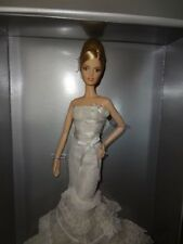 "Vera WANG ""ROMANTICIST"" sposa Platinum Label BARBIE RARA SOLO 999 fatto!"
