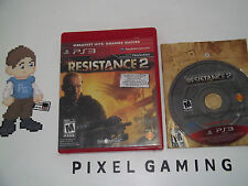 Resistance 2 - PLAYSTATION 3 (PS3) - Complete - FREE SHIP