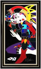 MARTIROS Manoukian Embellished Screenprint Signed Art Large Authentic Painting
