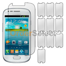 10X Clear LCD Screen Shield Guard Protector for Samsung Galaxy S3 S 3 S III Mini
