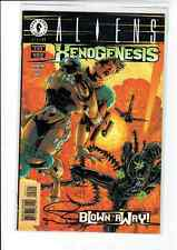 Aliens: Xenogenesis (Dark Horse, 1999) #2 NM signed by Andrew Pepoy