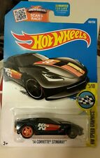 HOT WHEELS (1) XHTF 2016 SUPER TREASURE HUNT - K&N '14 CORVETTE STINGRAY (MOMC)