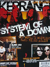 KERRANG 1047 - SYSTEM OF A DOWN/MY CHEMICAL ROMANCE/BLINK 182/THE MARS VOLTA