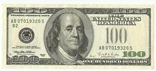 1996 USA America 100 $ Dollar Bill Note Error Mistake the Seal is Missing (XF)