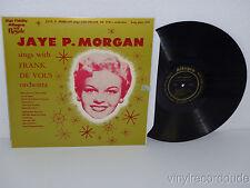 JAYE P MORGAN Sings with Frank De Vol's Orchestra LP Allegro 1604 (1952) vg+