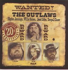 WAYLON JENNINGS/WILLIE NELSON CD - WANTED! THE OUTLAWS (1996) - NEW UNOPENED