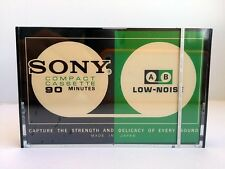SONY LOW NOISE C-90 BLANK AUDIO CASSETTE TAPE NEW RARE 1976 YEAR JAPAN MADE