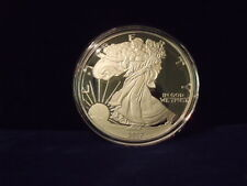 2017 Proof Silver Eagle .999 fine silver 4 troy ounces IN STOCK NOW GREAT GIFT