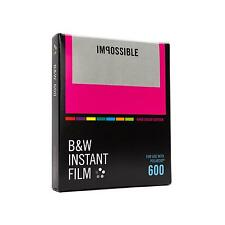 1x Impossible 600 B/W S/W Hardcolor Color Film Polaroid Sofortbildfilm Instant