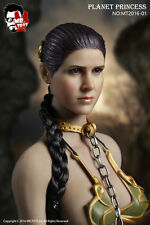 Mr.Toys 1/6 Scale Star Wars Planet Princess Leia Head,costume Accessories Pack