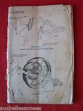 ANCIEN LIVRE MANUEL MACHINE AGRICOLE / AGRICULTURE MATERIEL