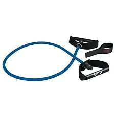 SPRI Xertube Resistance Band Exercise Cords with Door Attachment Blue - Heavy