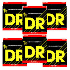 6-Sets DR Strings EH-11 Tite Fit Heavy Nickel Electric Guitar Strings (11-50)