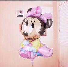 DISNEY LARGE MINNIE MOUSE BALLOON GIRLS PINK BIRTHDAY PARTY SUPPLIES BABY SHOWER