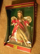 2000 Holiday Angel Barbie Doll Collector Edition 2nd in Series Red Dress 29769