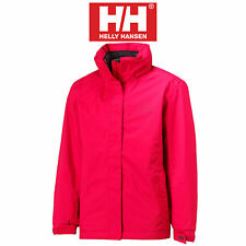 LADIES HELLY HANSEN NEW ADEN JACKET - SIZE SMALL - SCARLET - HELLY TECH - BNWT.