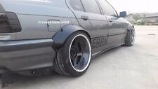 Fender Flares Rocket Bunny Style premium sheet metal for BMW E36 Sedan - COUPE