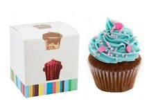 SINGLE CUPCAKE BOX ~ FAIRY CAKE HOLDER ~ MUFFIN POD CASE ~ INDIVIDUAL CUPCAKES