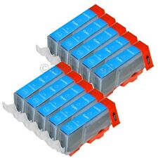 10 cartuchos para Canon + chip CLI 521 Cyan C IP 3600 IP 4600 IP 4700 mp 540 mp550