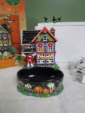 M&M's Dept. 56 Haunted House Tours Lighted House & Candy Dish