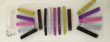 72 pieces Bobby Pin Hair Clip Sparkly Multi-Color  2""