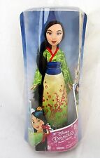 Mulan Oriental Chinese Princess Figure Toy Royal Shimmer Disney Fashion Doll