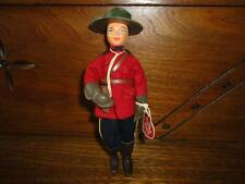 Happy Dolls 60s/70s England Peggy Nisbet RCMP T/10 Canada Mountie Police Doll 7""