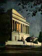 A4 Photo The Lure of Washington 1920 Scottish Rite Temple Print Poster