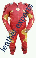 IRON MAN   MOTORBIKE LEATHER SUIT- APPROVED FULL PROTECTION
