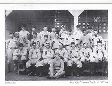 "+""1908 NY Yankees Team""  /NY Yankees/ The 1st 25 Years/  (#68) ~Post Card~"